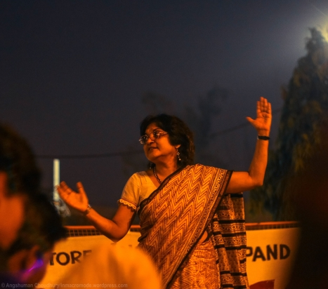 """Currently serving her second consecutive term as the President of the Delhi University Teachers' Association (DUTA), Ms. Nandita Narain has been a regular face at the recent wave of anti-administration demonstrations around Delhi University (and others). In her distinctively suave and succinct style, Ms. Narain gave a bleak commentary on our nation's state-of-affairs, """"Today, the country is divided into two camps - the English-speaking 'educational elite' that deems the country to be their personal property, and the socially disenfranchised lot that remains perennially subdued. We are still trapped in a feudal mindset, characterised by rampant casteism and social injustice. Thus, we are all carrying the burden of incomplete freedom. The situation has been made worse by external intervention. We are still economically tied to international money-lending organisations like the IMF, which have imposed strict austerity policies on our government, adversely affecting government schools and colleges. Today, the government is steadily and incrementally selling all of its schools to private holdings, out of its own incapacity to manage them. The degradation in our educational system hasn't happened by itself, it has been deliberately accomplished."""""""