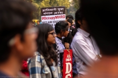 """The terminological extension of """"#OccupyUGC"""" to """"#OccupyMHRD"""" was almost inevitable. This is perhaps an outcome of the kind of narrative of detachment that UGC has repeatedly sold to the students whenever asked to answer questions. UGC routinely skirts interrogations from the agitators, citing that they are under the direct command of the MHRD. Although, such internally feudal relationships are common in the Indian administrative setup, they play a major role in eroding the State's accountability."""