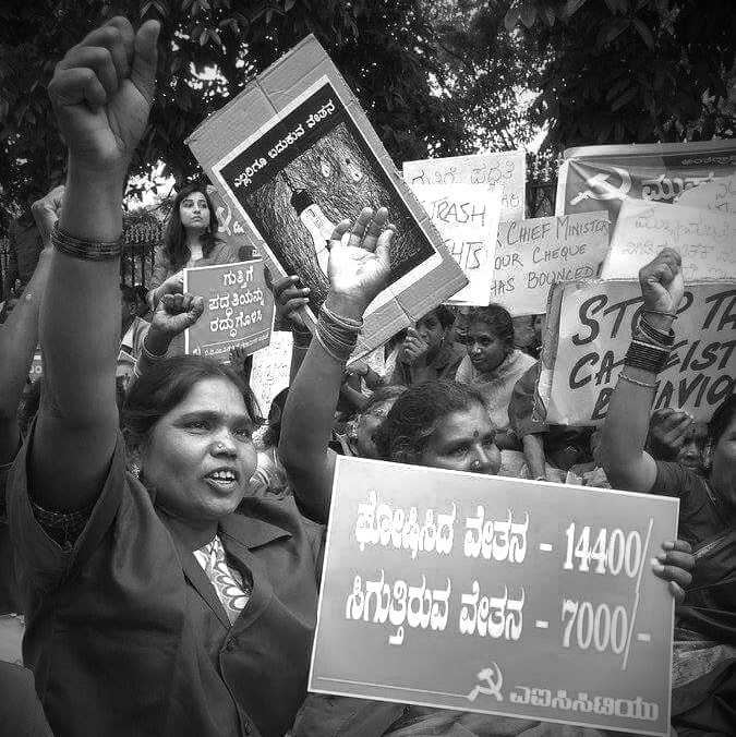 Bangalore Women Protest_1