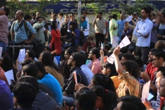 The 4 March rally saw widespread participation, particularly from a unique section of university students who refuse to identify with any political ideology or party.