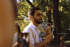 Umar Khalid, a PhD scholar at JNU, remains the polarising figure that he became last spring - thanks to sedition charges slapped on him on account of alleged participation in an 'anti-India' rally. Yet, he continues to remain visible in public demonstrations.
